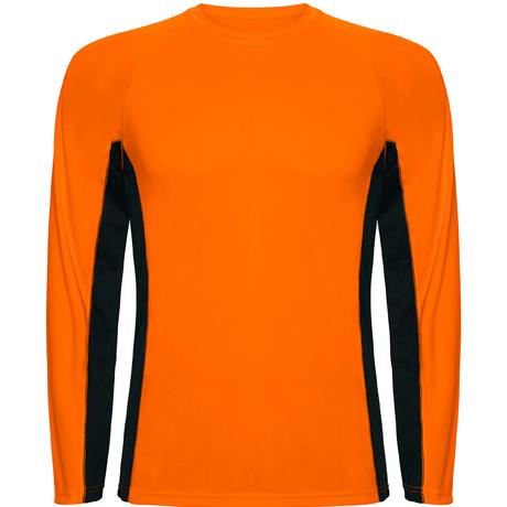 arancio fluo/nero